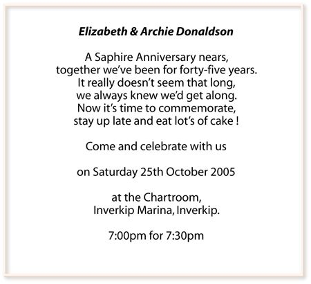 60th wedding anniversary invitation wording parents anniversary 60th wedding anniversary invitation wording stopboris