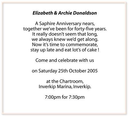 60th wedding anniversary invitation wording parents anniversary 60th wedding anniversary invitation wording stopboris Image collections