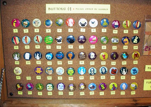 How to: Displays for Buttons | Household | Buttons for sale, Craft