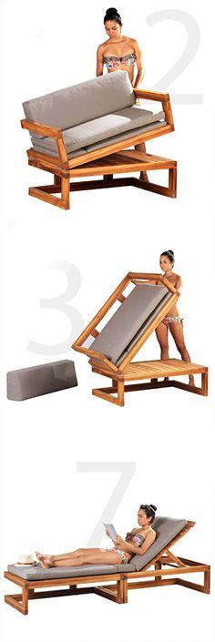 Mueble silla - cama - sillón  #mueblesreciclados