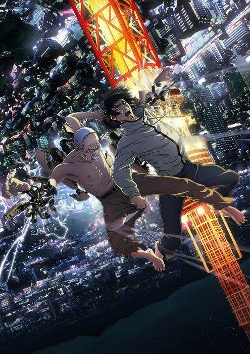 Inuyashiki Poster Anime Top 10 Novos Animes