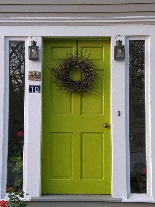Image Result For Apple Green Front Door Painting 2015