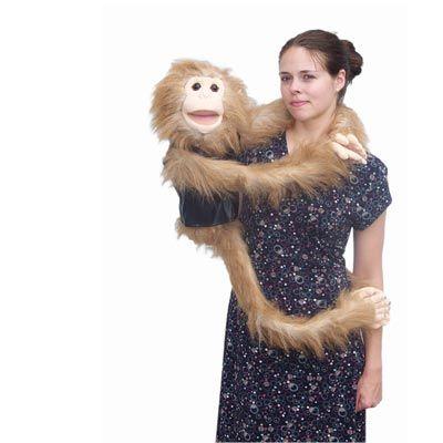 wrap around monkey puppets!