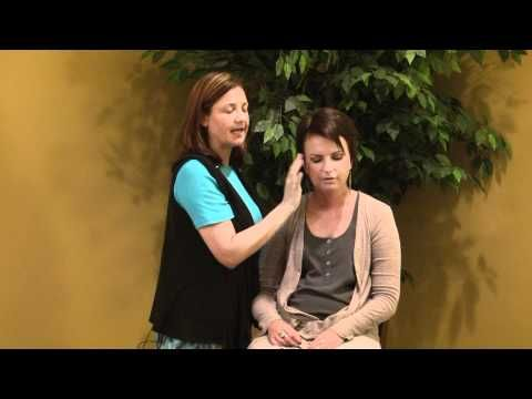 EFT...tapping...this is a friend of mine in the chair...try it..it works!
