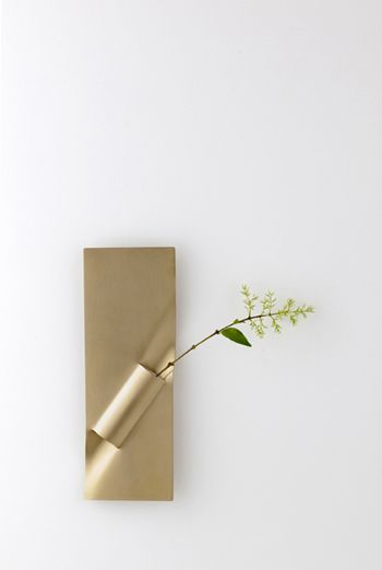 """idea for wall vase. """"flower vase"""" by beets, inc."""