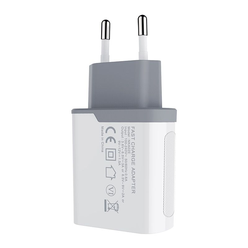 Nillkin Qc 3 0 Phone Usb Charger 3a Fast Charger Us Eu Uk Travel Charger Usb Wall Phone Charger For Xiaomi For Huawei Oneplus Nillkin Wall Phone Travel Charger