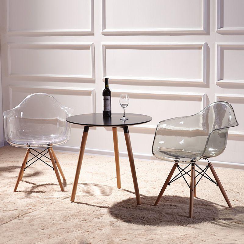 Transpa Chair Armchair Natural Wood