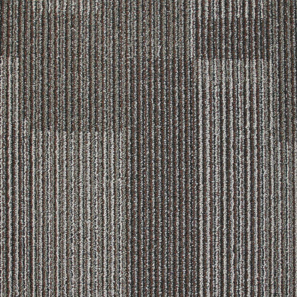 Eurotile Park Avenue Coffee Loop 19 7 In X 19 7 In Carpet Tile