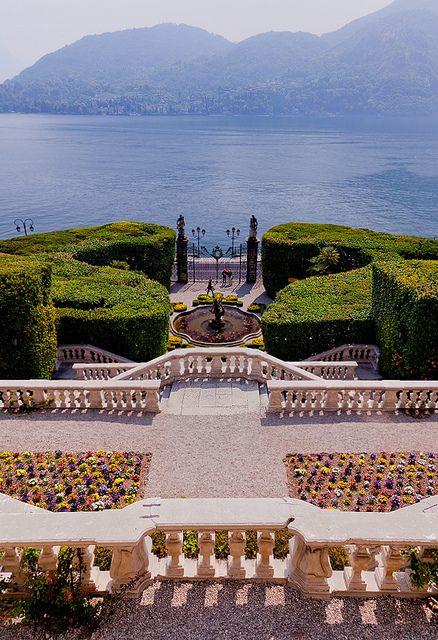 Lake Como, view from the Villa d' Este...exquisite.