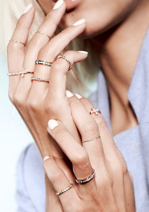 Rings fashion  JEWELRY CRUSH: THPSHOP RING COLLECTION - Le Fashion | Dainty Rings ...