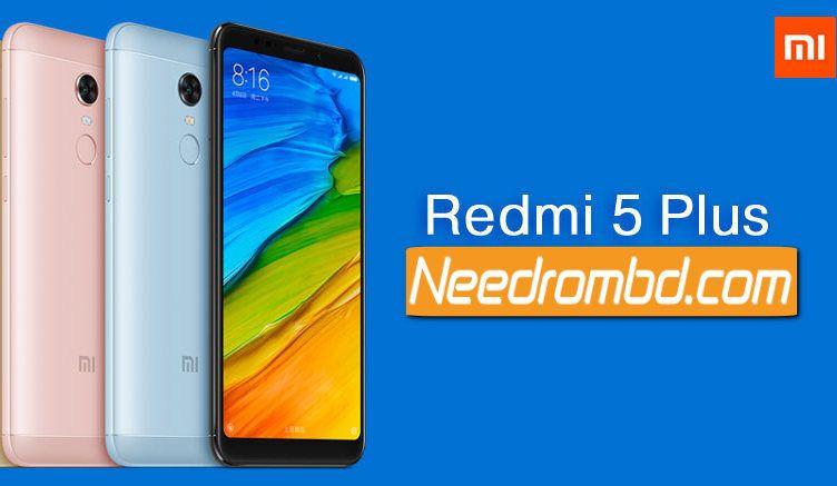 Miui 9 Rom For Xiaomi Redmi 5 Plus Xiaomi Rom Firmware