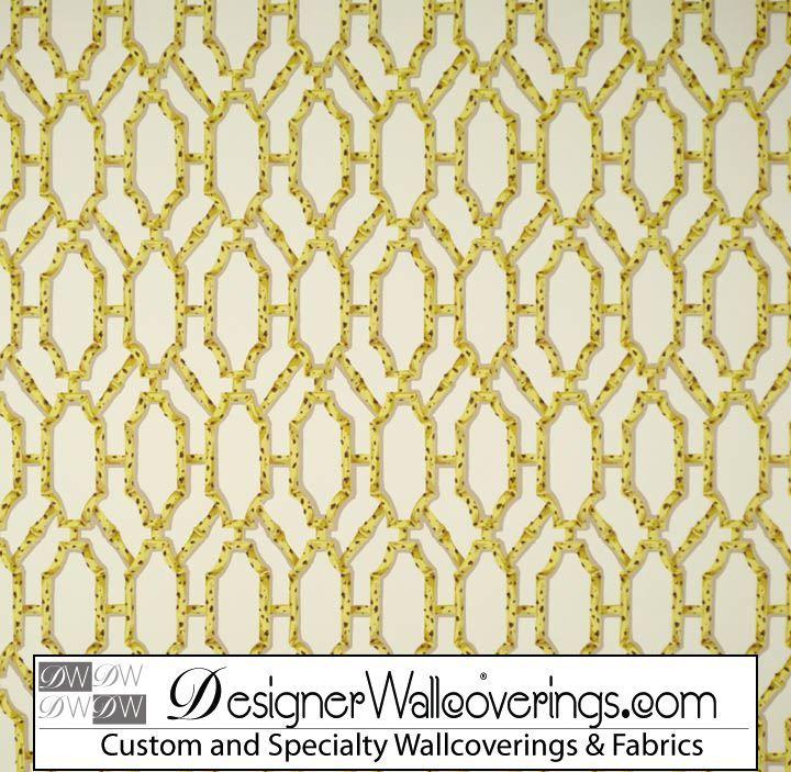 Leopard Trellis Lattice Wallpaper  [PAL-42034] W Collection Screen Prints 1/13   DesignerWallcoverings.com   Luxury Wallpaper   @DW_LosAngeles   #Custom #Wallpaper #Wallcovering #Interiors