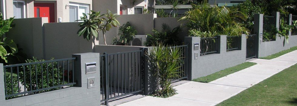 front porch stucco fencing ideas - Google Search | A IS FOR ...
