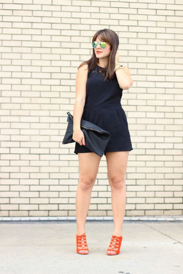 b48898d23ca How To Style A Black Romper