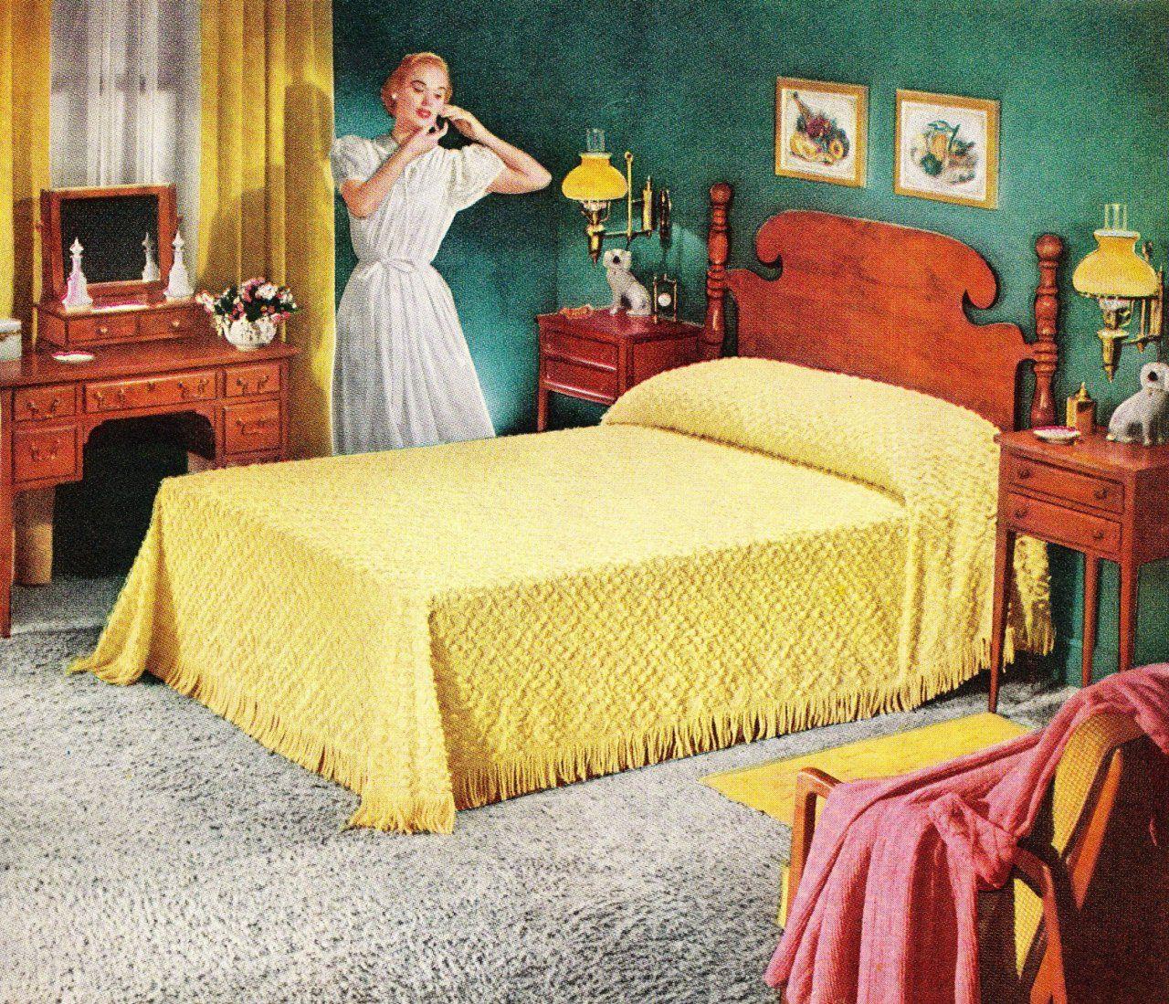 Good Housekeeping June 1953 Retro Bedrooms Bedroom Vintage