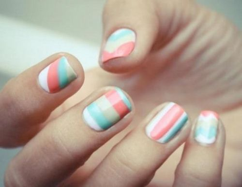 Different Cute Easy Nail Designs Tumblr Nail Ideas Pinterest
