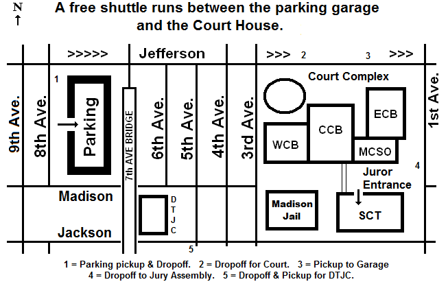 Map Of Downtown Phoenix Jury Parking 701 W Jefferson St Phoenix Az Downtown Phoenix Jury Service Jury