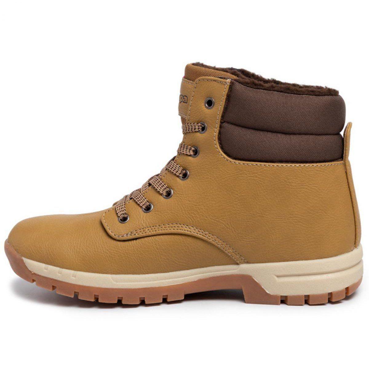 Buty Zimowe Kappa Woak M 242780 4150 Brazowe Winter Shoes Sport Shoes Men Boots