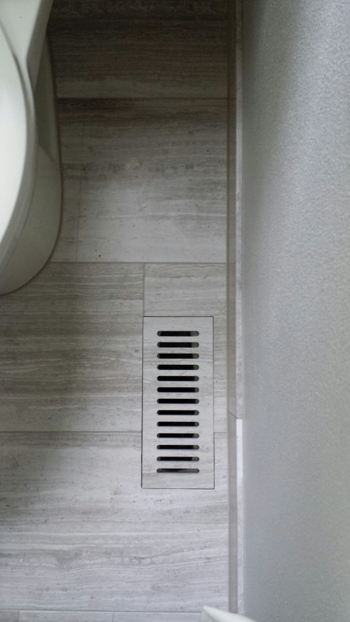Custom made tile vent cover forest heights remodel for Bathroom floor contractors