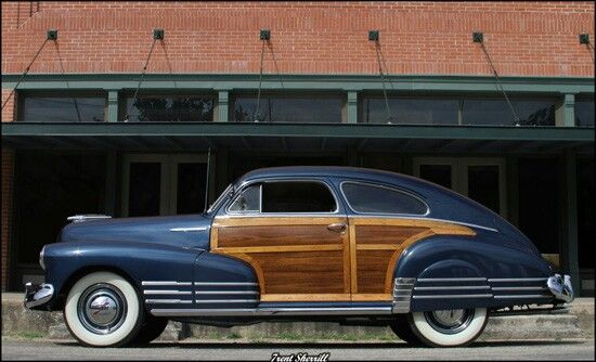 1948 Chevrolet Fleetline Aerosedan Woody Chevrolet Woodies Country