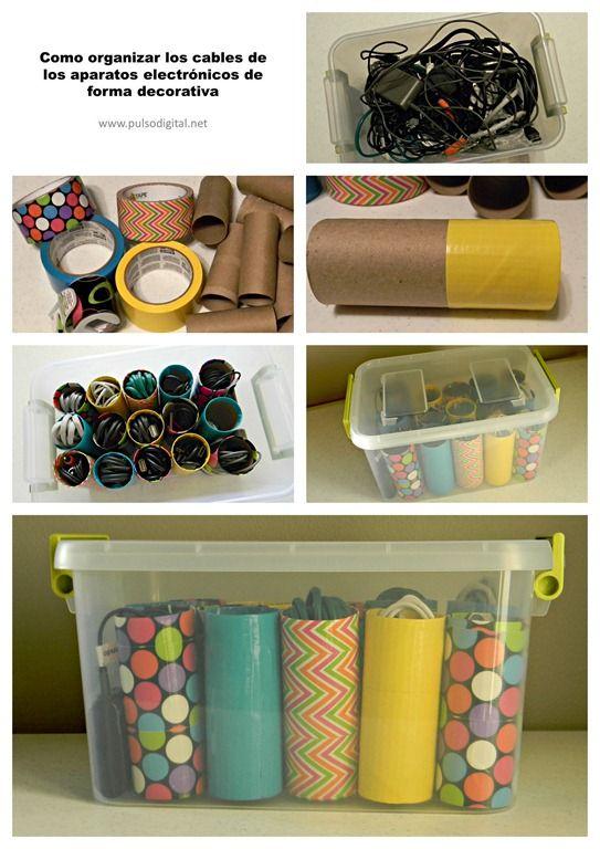 fora embolics organitza els fils dels teus aparells electr nics organize recycle. Black Bedroom Furniture Sets. Home Design Ideas
