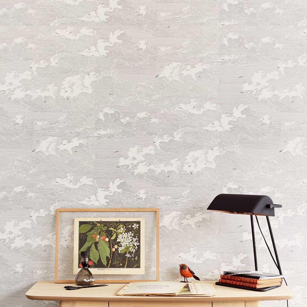 Papier peint Feathery Clouds - Eijffinger in 2019 | Cloud wallpaper, Wallpaper, Clouds