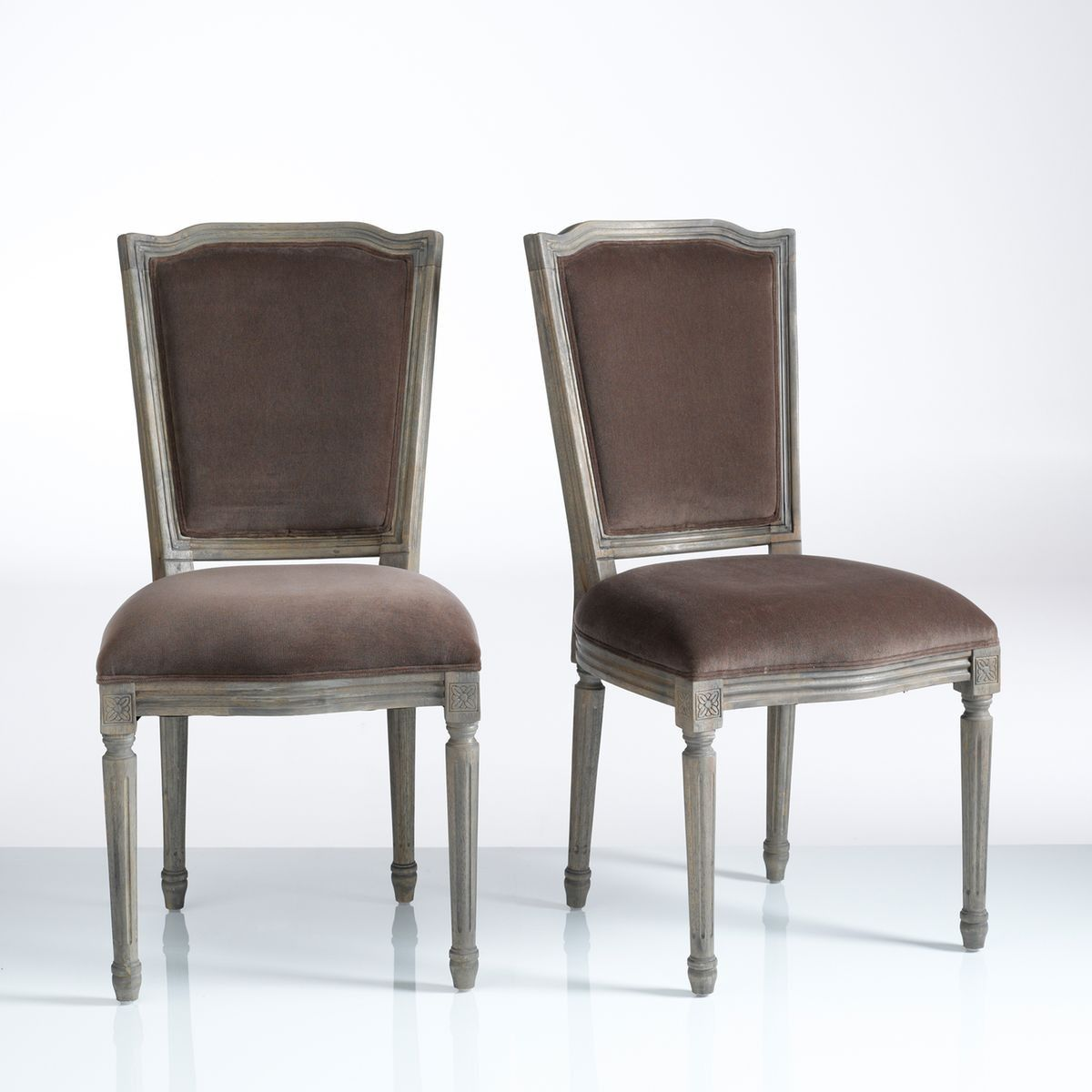 Chaise Style Louis Xvi Lot De 2 Trianon Products Chaise