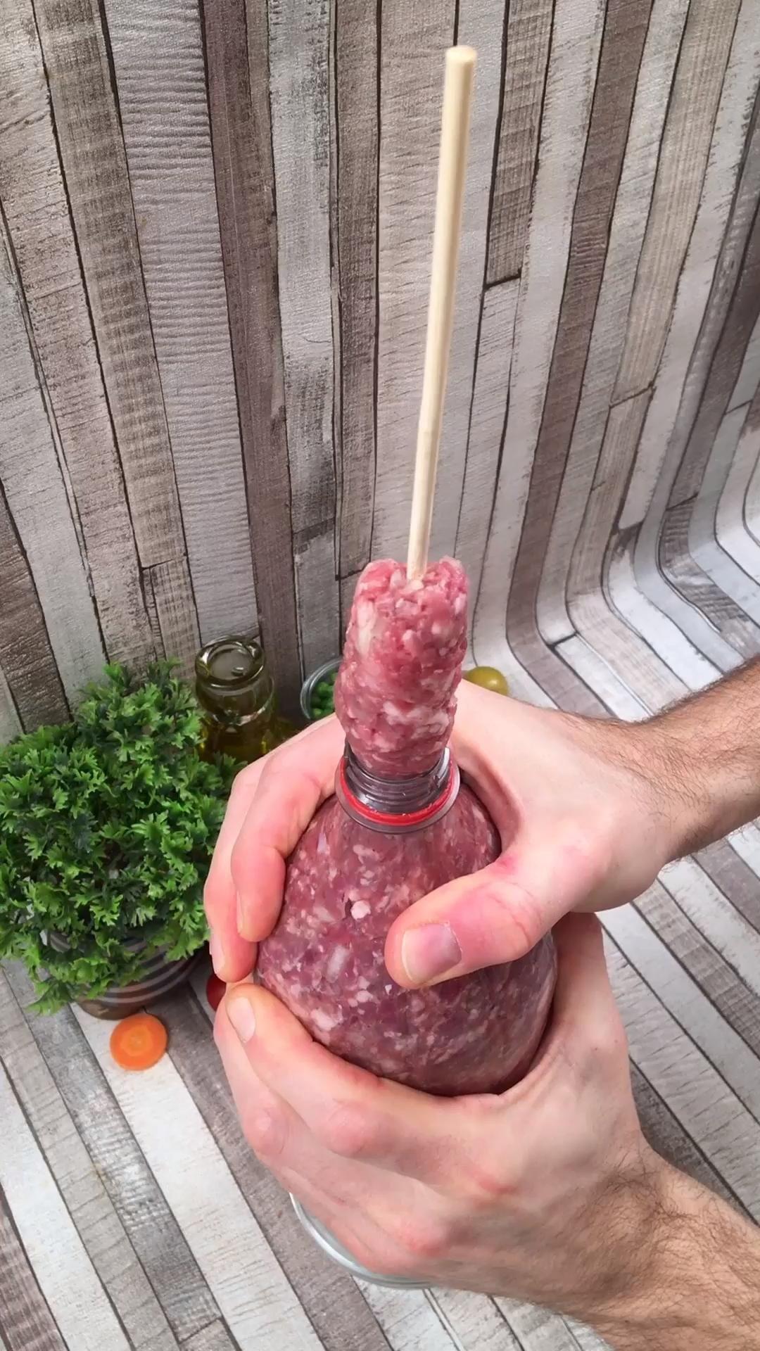 Homemade Sausage Tower