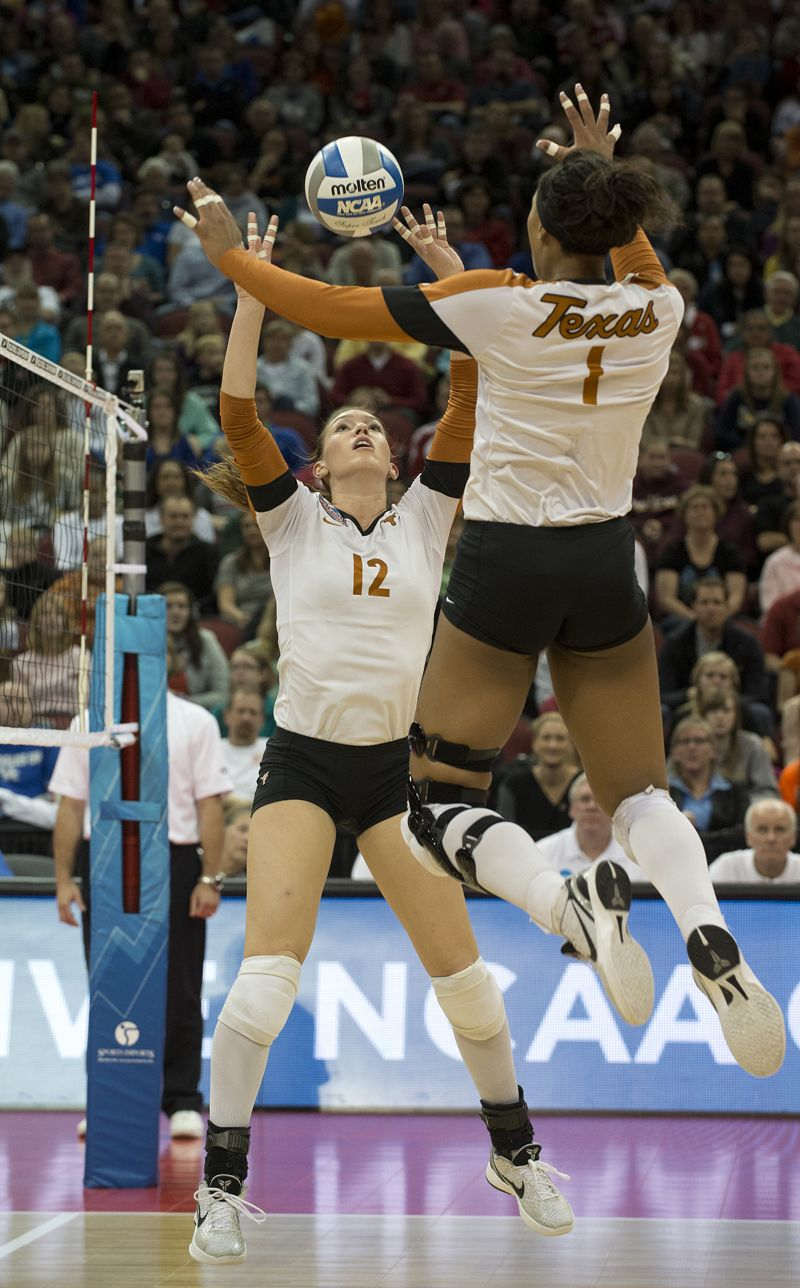 The Official Website Of The University Of Texas Athletics Female Volleyball Players Women Volleyball Volleyball Photos