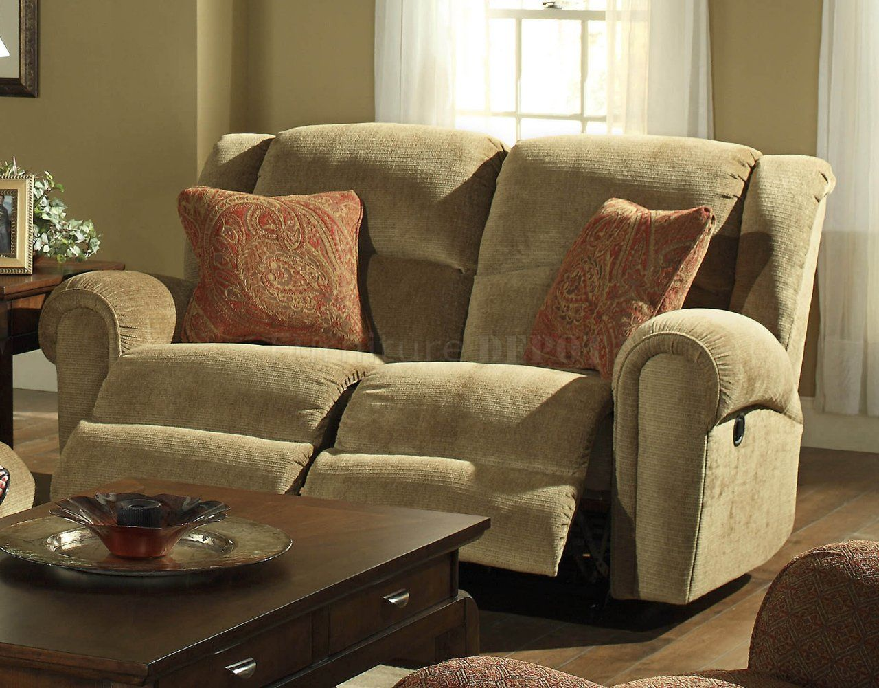 picture of catnapper grove park 120 rocking reclining loveseat in havana recliners