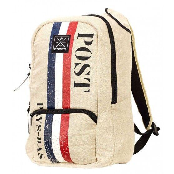 De #Post Pays-Bas backpack junior van #Brabo is een ruime tas waarin