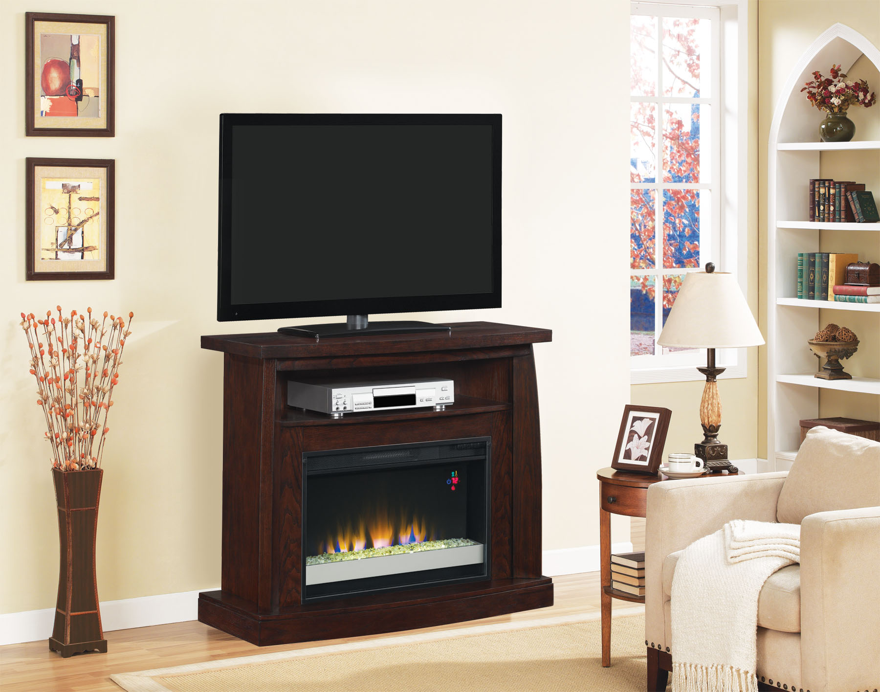 Classic Flame Boomerang Electric Fireplace Electric Fireplace Fireplace Electric Fireplace Media Console