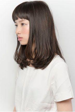 X G G 髪型 髪 色 ミディアムヘア