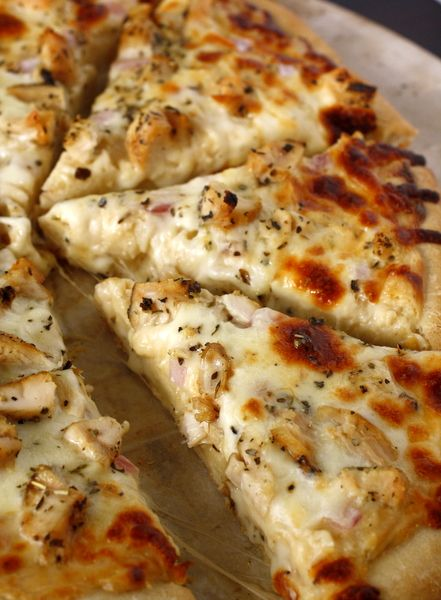 Roasted Garlic, Chicken and Herb Pizza Recipes Pinterest - California Pizza Kitchen Chicago
