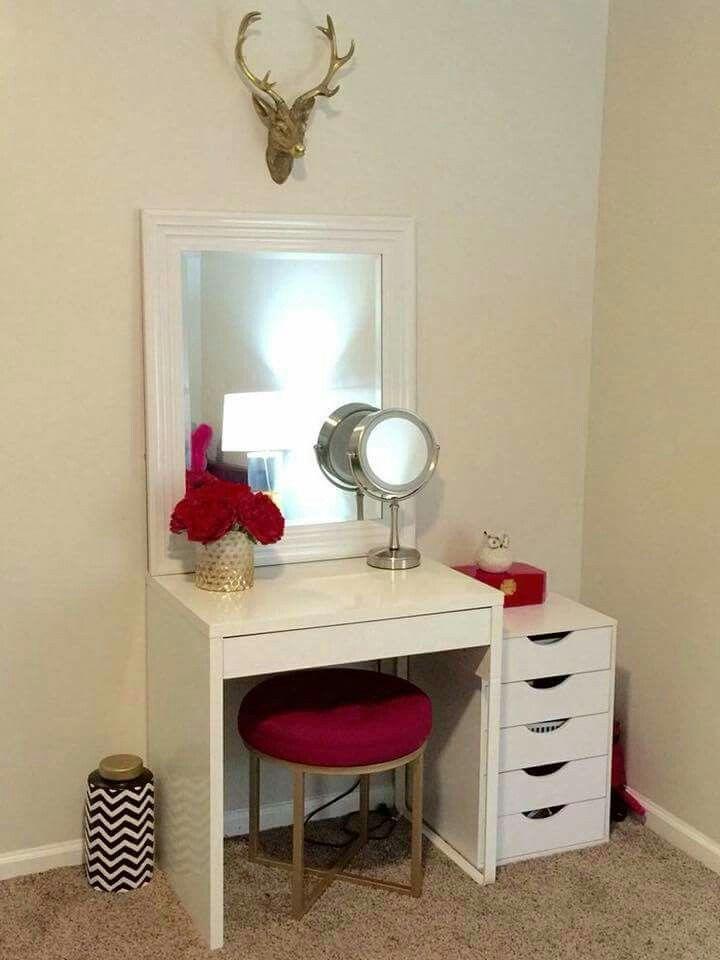 Pin By Erica Concepcion On Vanity Dreams Makeup Room Decor Room Decor Makeup Room Diy