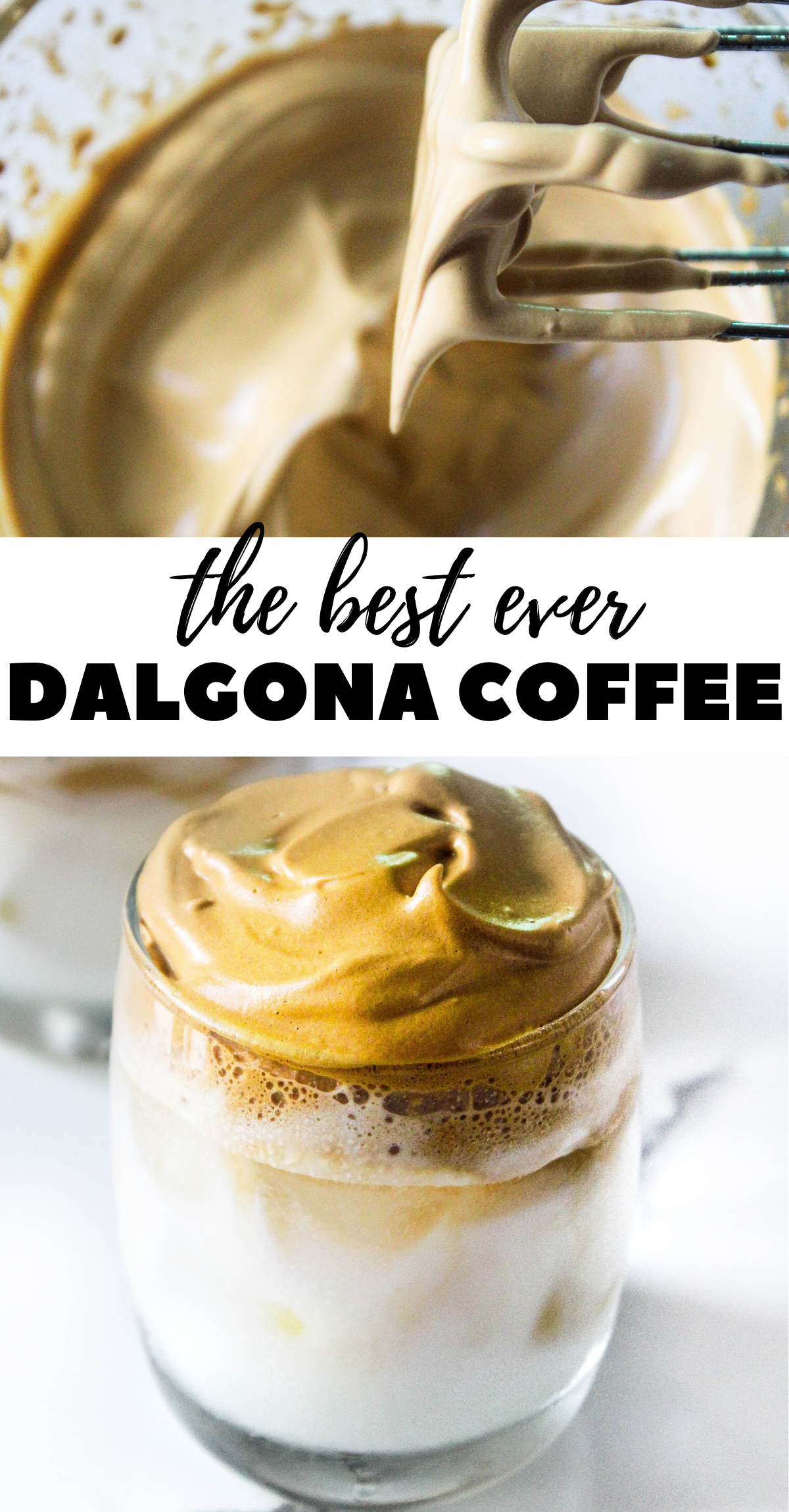 Dalgona Coffee The Twin Cooking Project by Sheenam