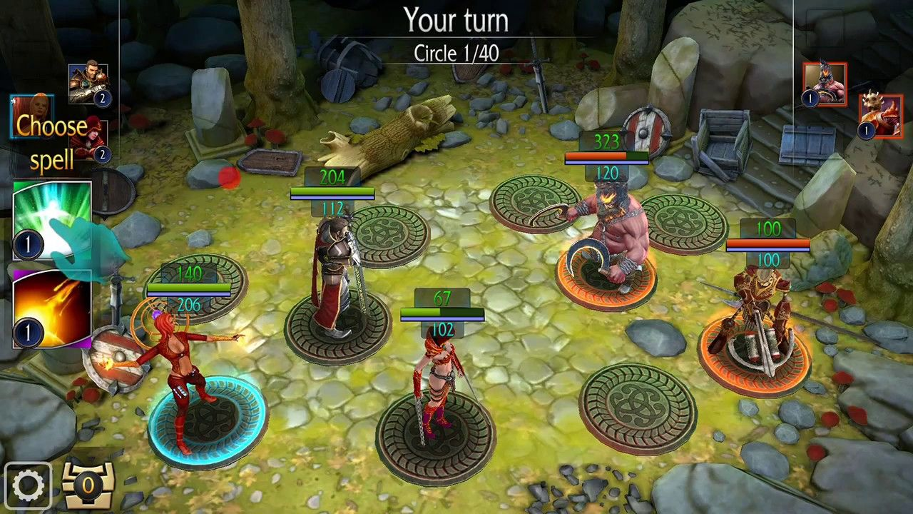 Invictus Heroes: 2019 NEW RPG  Android game (played on Leeco Le S3