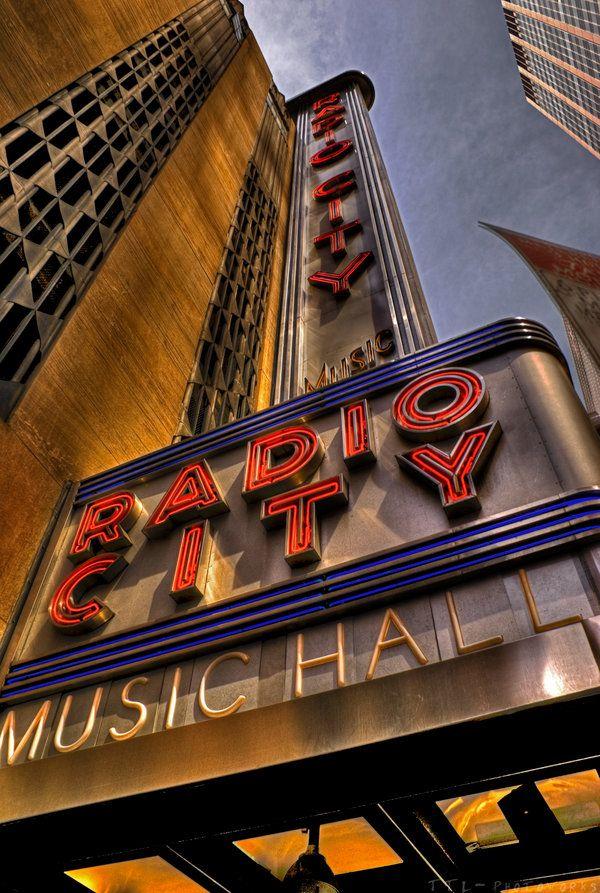 Radio City Music Hall Art Deco Theater More On The