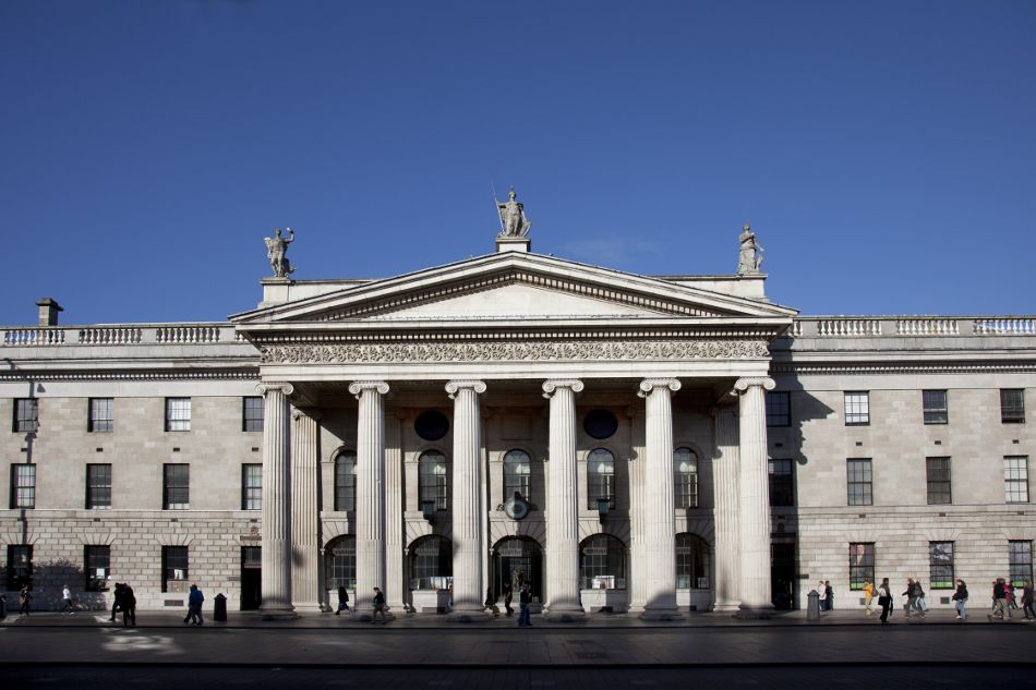 The gpo general post office in dublin 39 s o 39 connell street was the scene of ireland 39 s easter - Post office working today ...