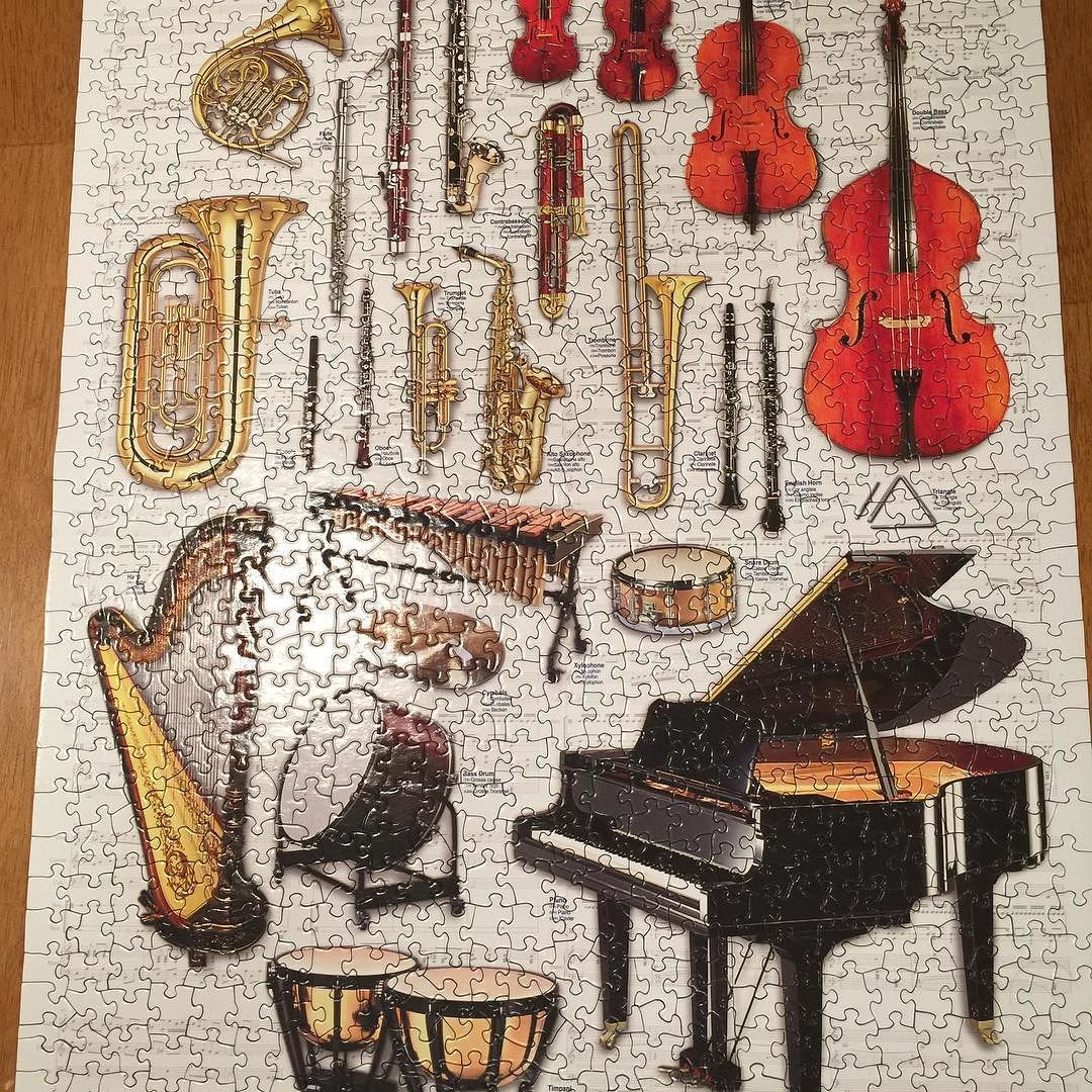 Jan Schopfer has one puzzle done! | Pictures | Pinterest