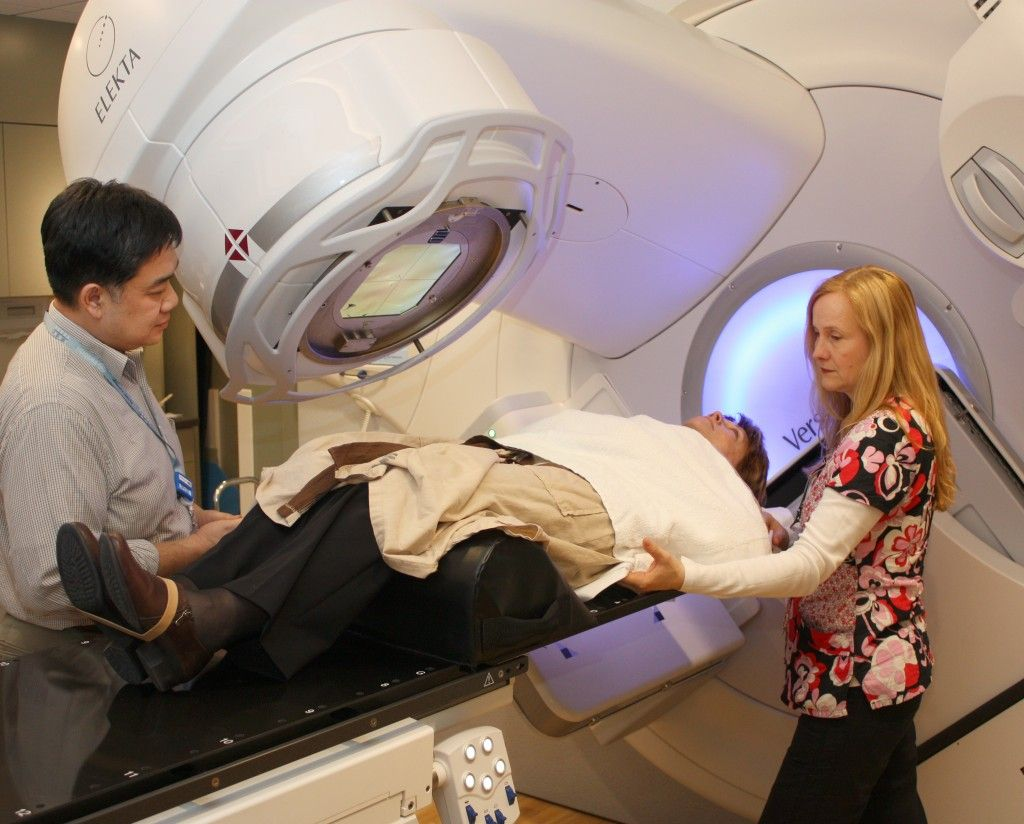 Swedish/Edmonds has a new linear accelerator for radiation therapy and treatment of cancer patients.