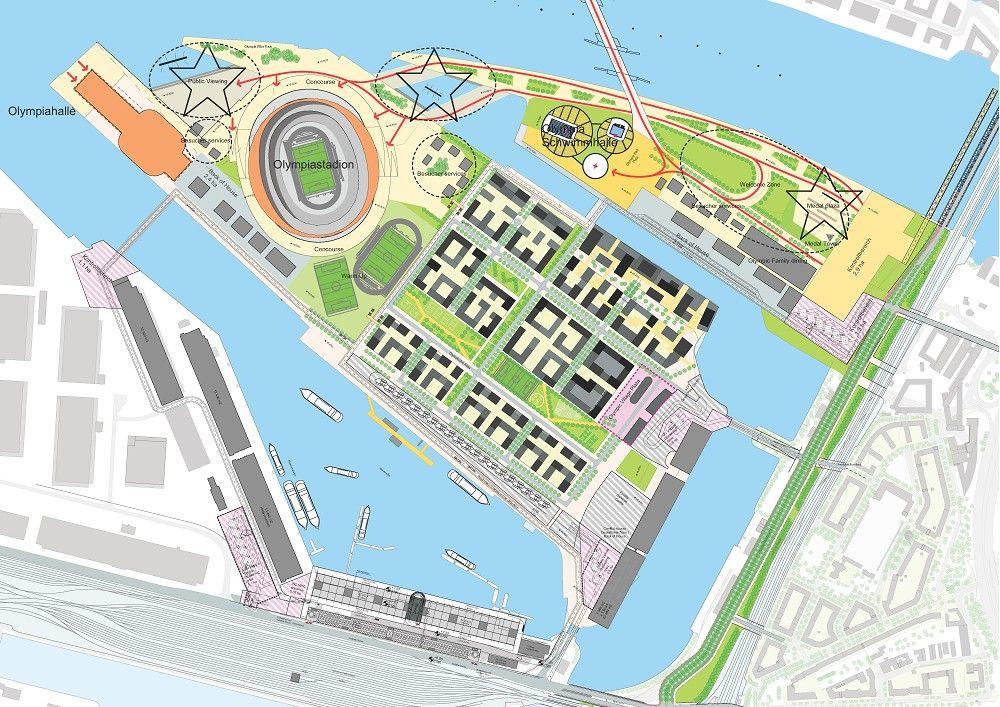 Mandaworks and Hosper Sweden Win Floda City Center Competition - village expo portet sur garonn