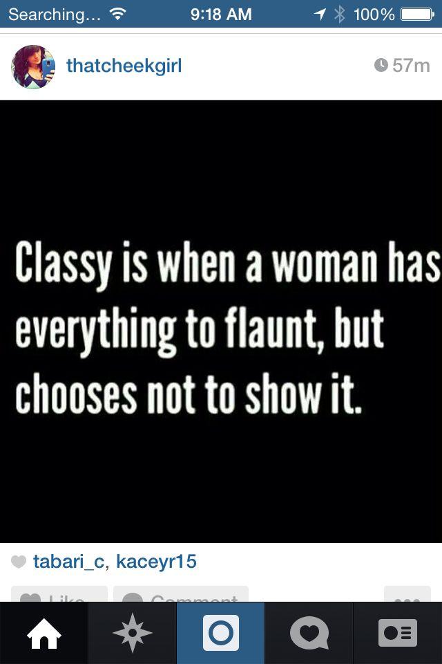 Classy women.