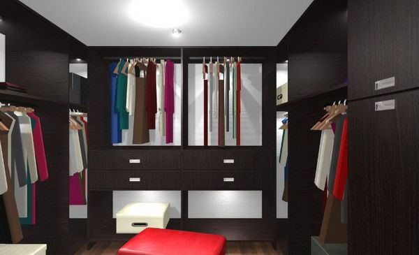 Spacious Dressing Room Designs Part 10