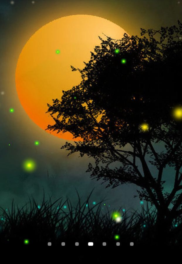 Download Fireflies 3d Live Wallpaper Free For Android Mobile Phone