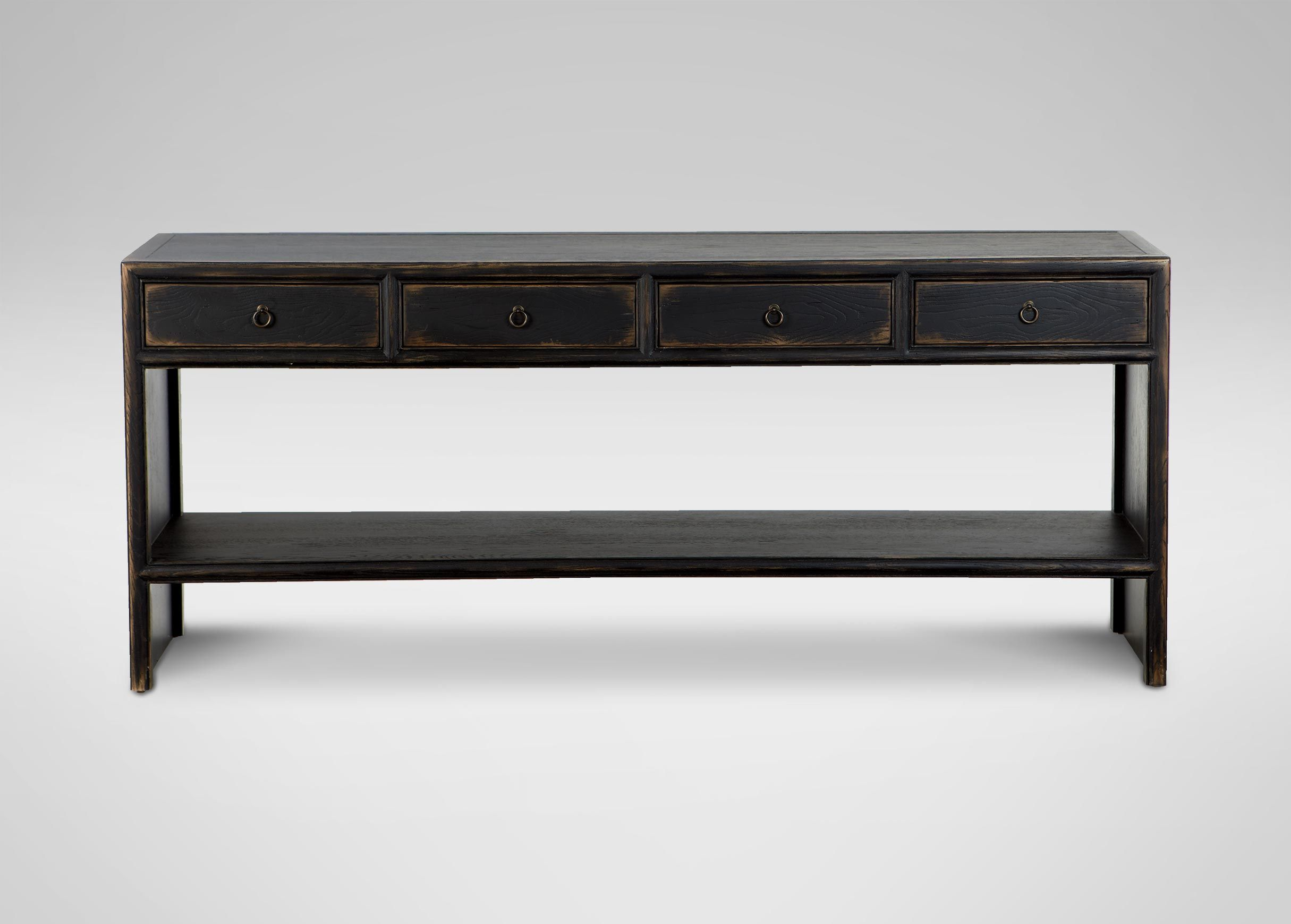 Large shogun console table 72 long 30 high