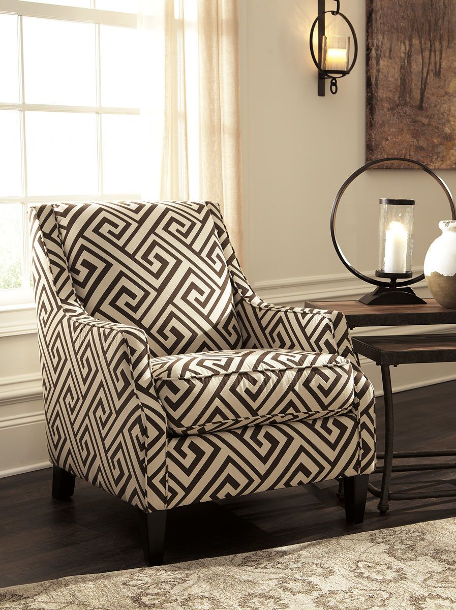 The Carlinworth Expresso Accent Chair Sold At Furniture Rug Depot Serving Montgomery Village Md