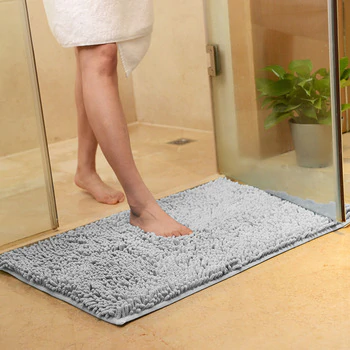 Non Slip Bath Mat Bathroom Carpet Mat In The Bathroom Bath Pad