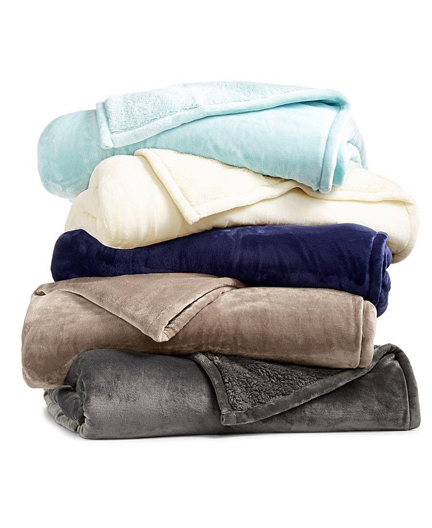 last act berkshire blanketa luxe reversible plush full queen blanket