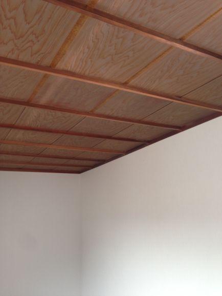 上越市 和室天井をクロス張りに変更 洗面台入替え 長野県 松戸市